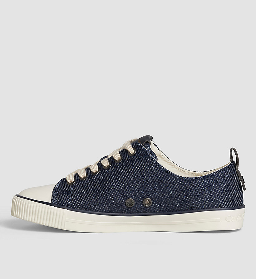 CKJEANS Denim Sneakers - BLUE/MIDNIGHT/GOLD - CK JEANS SHOES & ACCESSORIES - detail image 2