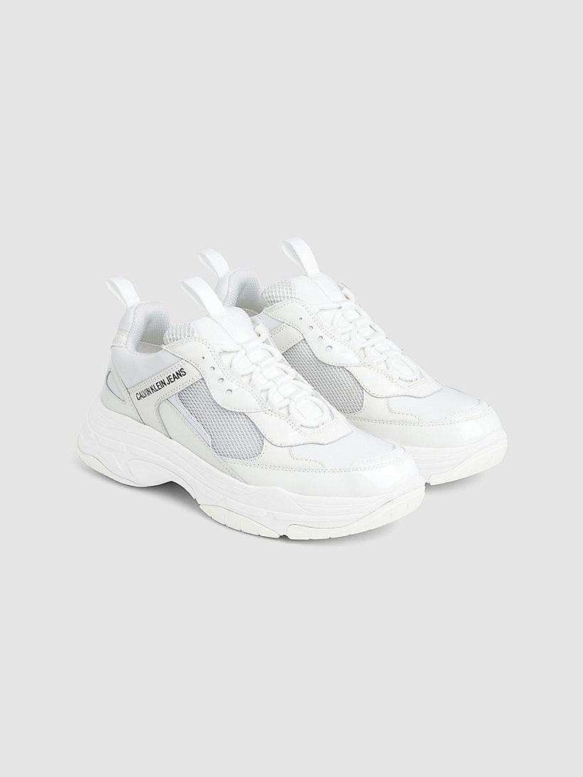 Calvin Klein - Klobige Sneakers aus Leder - 2