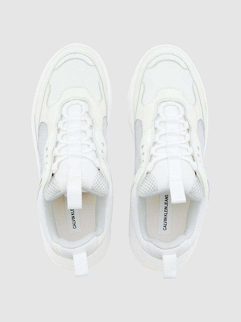 Calvin Klein - Klobige Sneakers aus Leder - 4