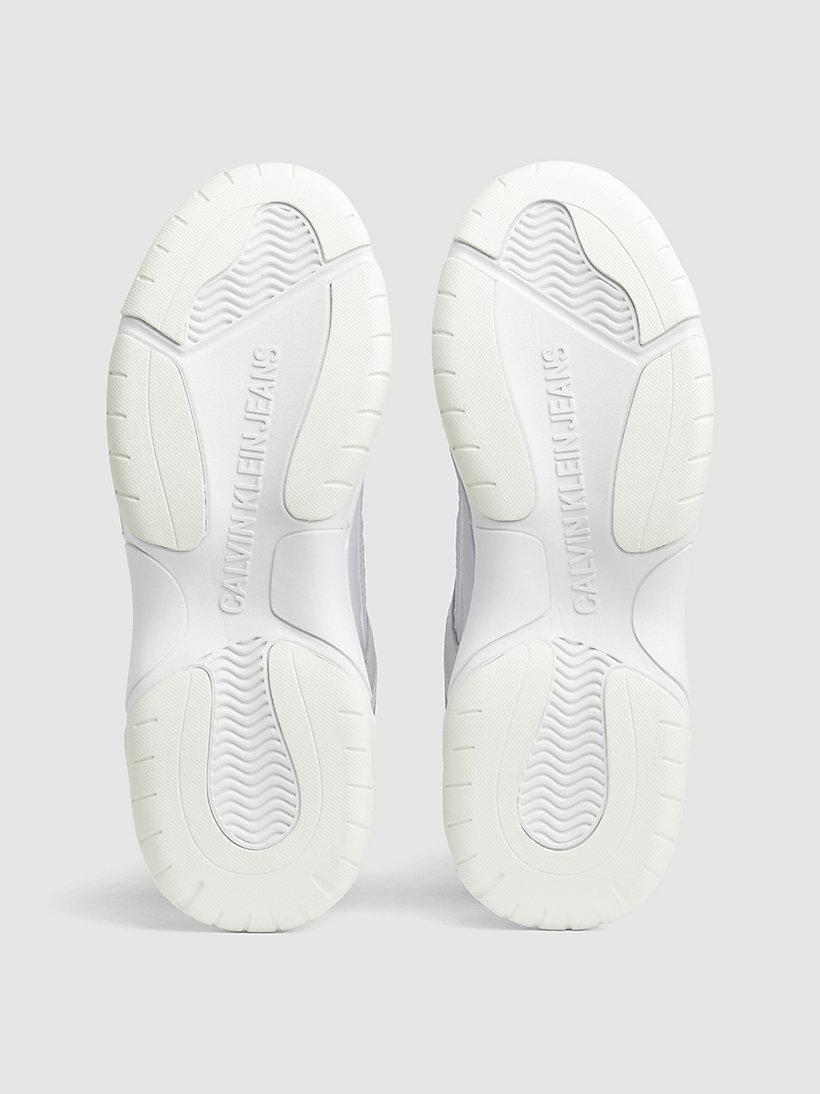 Calvin Klein - Klobige Sneakers aus Leder - 5