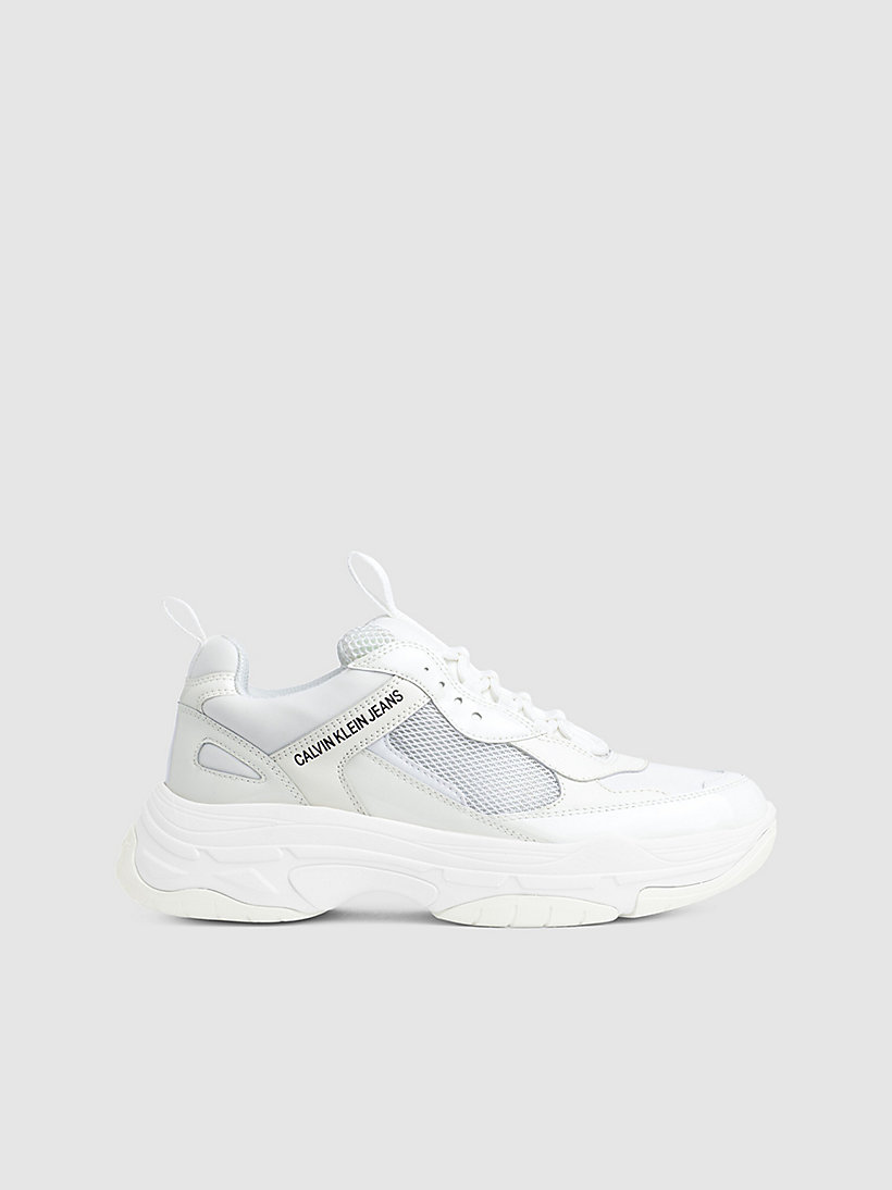 Calvin Klein - Klobige Sneakers aus Leder - 1