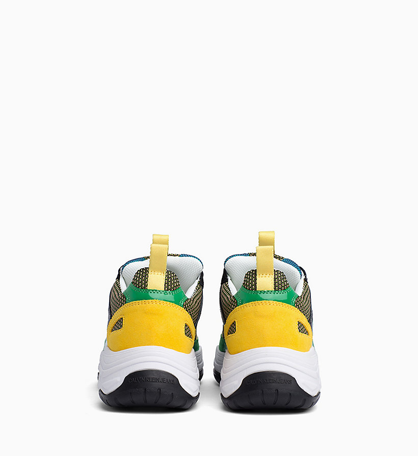 Calvin Klein - Leather Chunky Trainers - 3