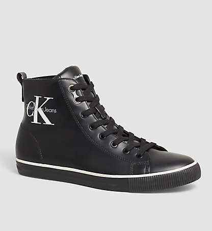 CALVIN KLEIN JEANS High-Top Sneakers - Arthur 00000S0368BLK