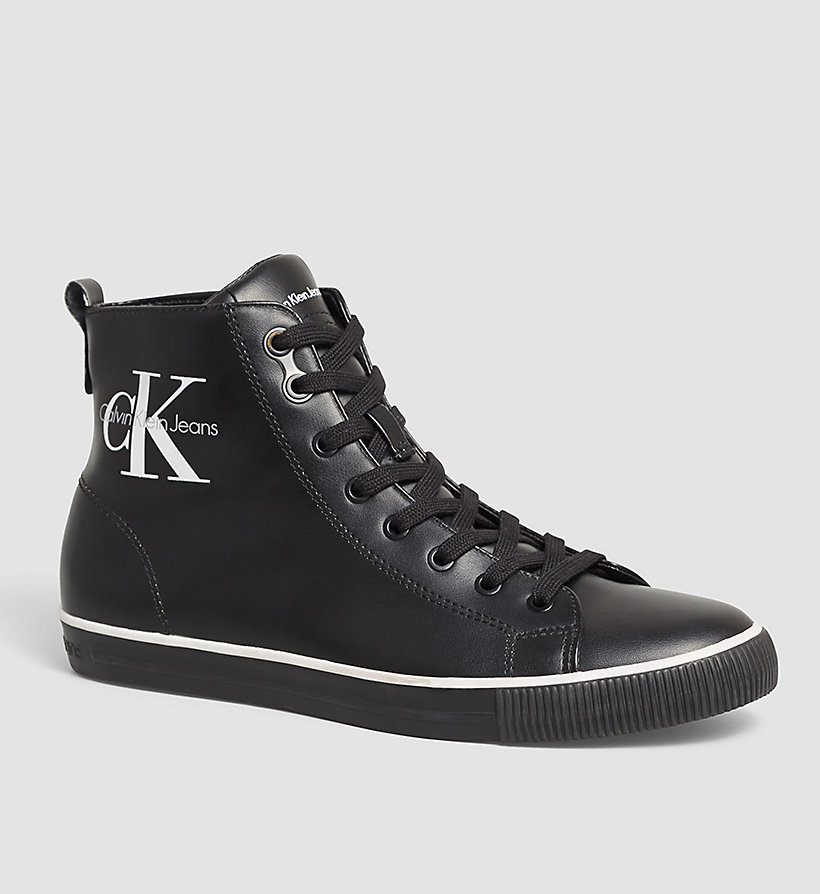CKJEANS High-Top Sneakers - BLACK - CK JEANS SHOES & ACCESSORIES - main image