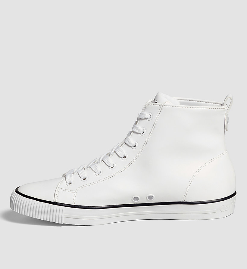CKJEANS High-Top Sneakers - WHITE - CK JEANS SHOES & ACCESSORIES - detail image 2