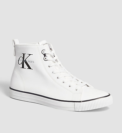 CALVIN KLEIN JEANS High-Top Sneakers - Arthur 00000S0368WHT