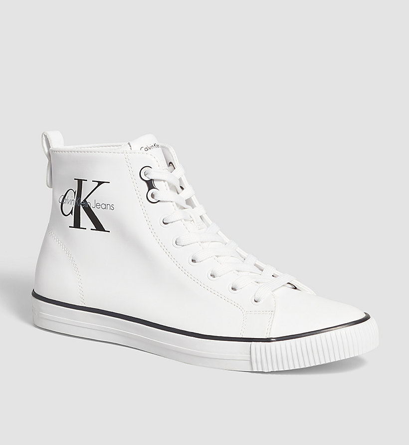 CKJEANS High-Top Sneakers - WHITE - CK JEANS SHOES & ACCESSORIES - main image