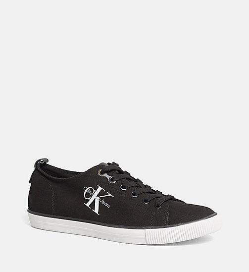 Canvas Sneakers - BLACK /  BLACK - CK JEANS SHOES & ACCESSORIES - main image