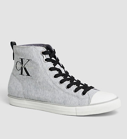 CALVIN KLEIN JEANS High-Top Sneakers - Aron 00000S0374GRY