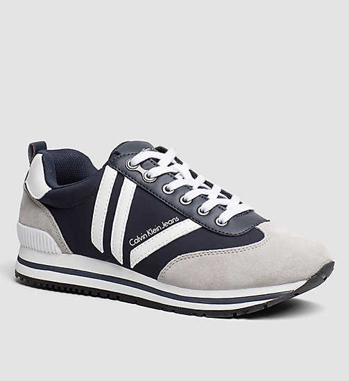 CKJEANS Sneakers - WHITE/INDIGO/PEARL GREY - CK JEANS SHOES - main image