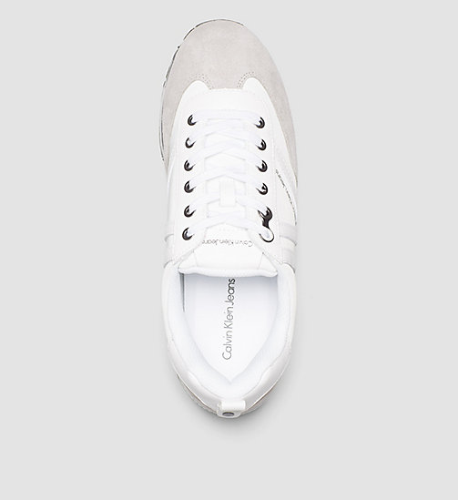 CKJEANS Sneakers - WHITE/OFF WHITE/PEARL GREY - CK JEANS SNEAKERS - detail image 1