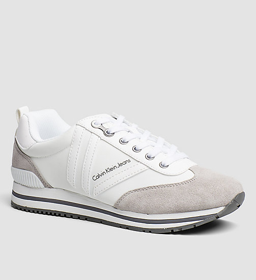 CKJEANS Sneakers - WHITE/OFF WHITE/PEARL GREY - CK JEANS TRAINERS - main image