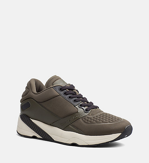 CALVIN KLEIN JEANS Neoprene Sneakers - CARGO - CALVIN KLEIN JEANS TRAINERS - main image