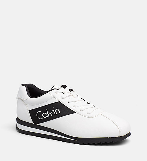 CALVIN KLEIN JEANS Sneakers - WHITE/BLACK - CALVIN KLEIN JEANS SHOES - main image