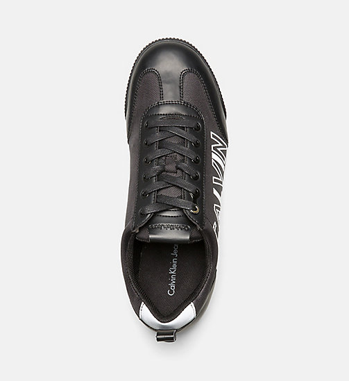 CALVINKLEIN Sneakers - BLACK - CALVIN KLEIN JEANS SHOES & ACCESSORIES - detail image 1