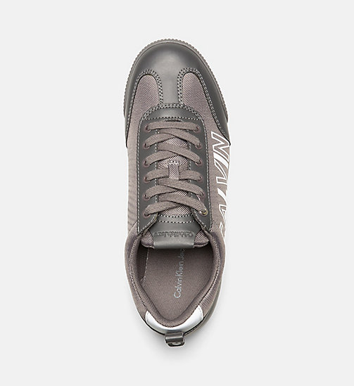 CALVINKLEIN Sneakers - CHARCOAL - CALVIN KLEIN JEANS SHOES & ACCESSORIES - detail image 1