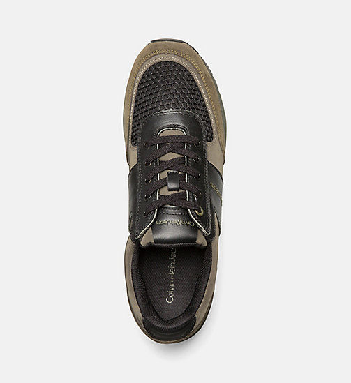 CALVINKLEIN Sneakers - CARGO/BLACK - CALVIN KLEIN JEANS SHOES & ACCESSORIES - detail image 1