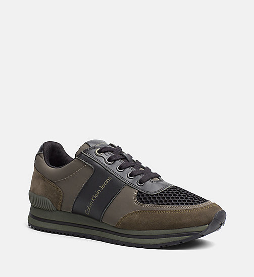CALVINKLEIN Sneakers - CARGO/BLACK - CALVIN KLEIN JEANS SHOES & ACCESSORIES - main image