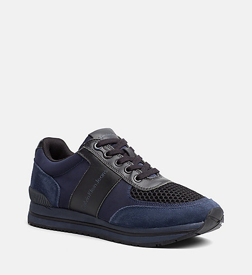 CALVINKLEIN Sneakers - INDIGO/BLACK - CALVIN KLEIN JEANS SHOES & ACCESSORIES - main image