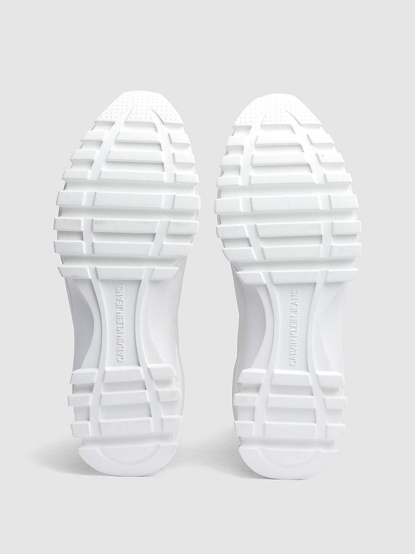 Calvin Klein - High Top Sneakers aus Strickgewirk - 5