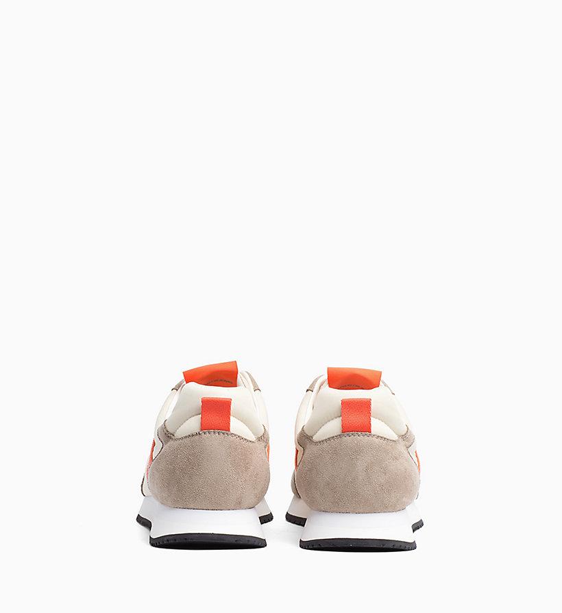 Calvin Klein - Baskets en nylon et daim - 3