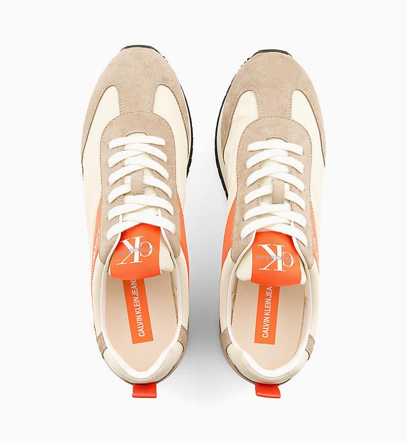 Calvin Klein - Baskets en nylon et daim - 4