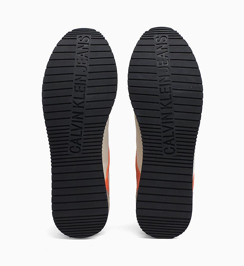 Calvin Klein - Baskets en nylon et daim - 5