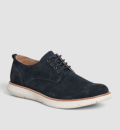 CALVIN KLEIN Suede Lace-Up Shoes 00000S1608IND