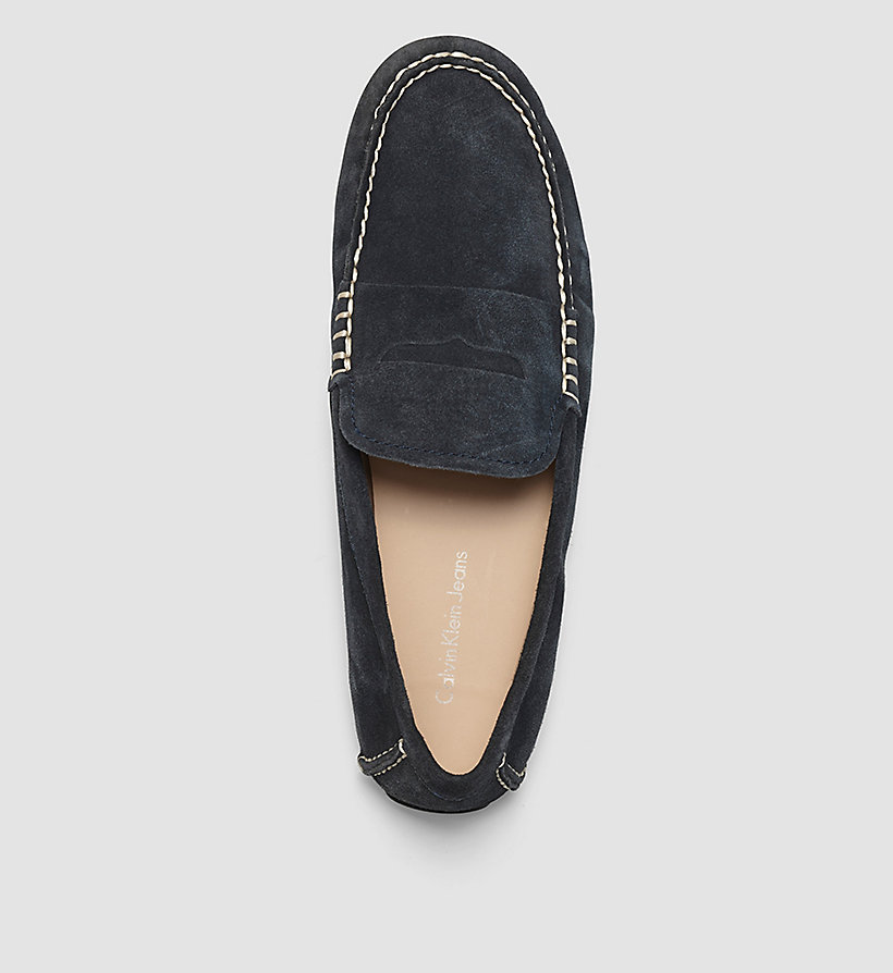 CKJEANS Suede Loafers - BLUE/INDIGO - CK JEANS SHOES & ACCESSORIES - detail image 1