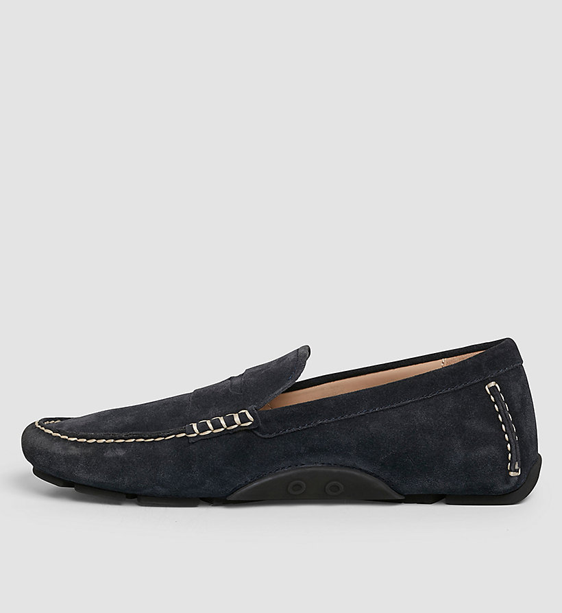 CKJEANS Suede Loafers - BLUE/INDIGO - CK JEANS SHOES & ACCESSORIES - detail image 2