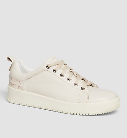 CALVIN KLEIN Leather Sneakers 00000S1622OFW
