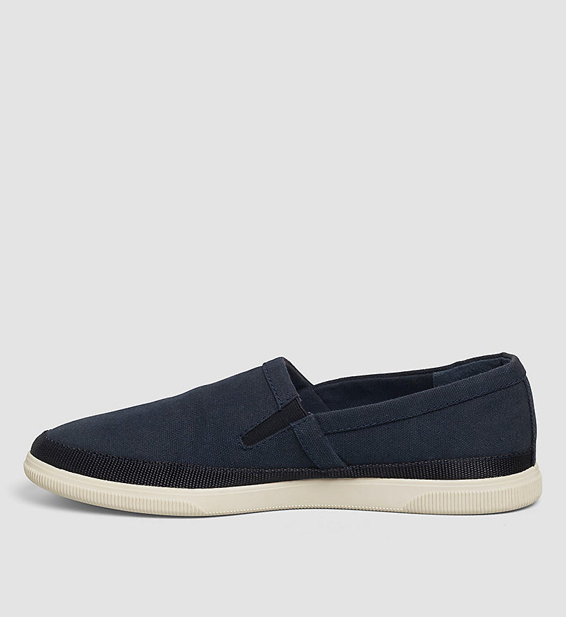 CKJEANS Canvas Slip-On Shoes - BLUE/INDIGO - CK JEANS SHOES & ACCESSORIES - detail image 2