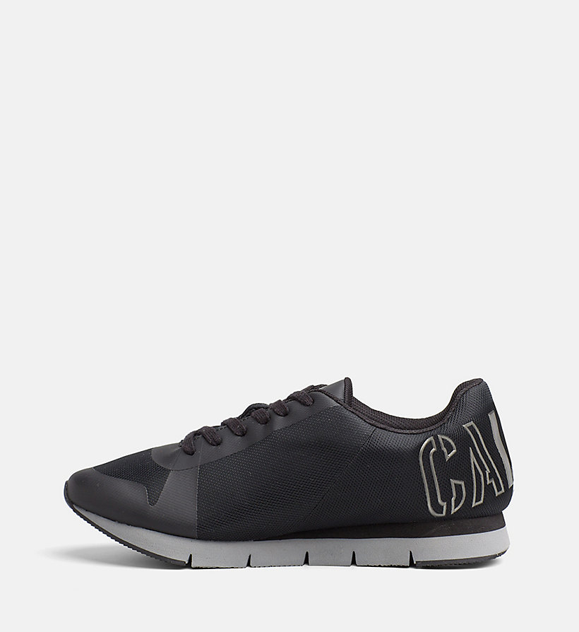 CALVIN KLEIN JEANS Mesh Sneakers - BLACK/PEWTER - CALVIN KLEIN JEANS SHOES & ACCESSORIES - detail image 2