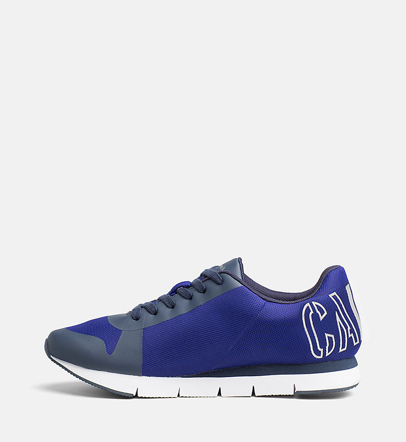 CALVIN KLEIN JEANS Mesh Sneakers - E-BLUE/SILVER - CALVIN KLEIN JEANS SHOES & ACCESSORIES - detail image 2