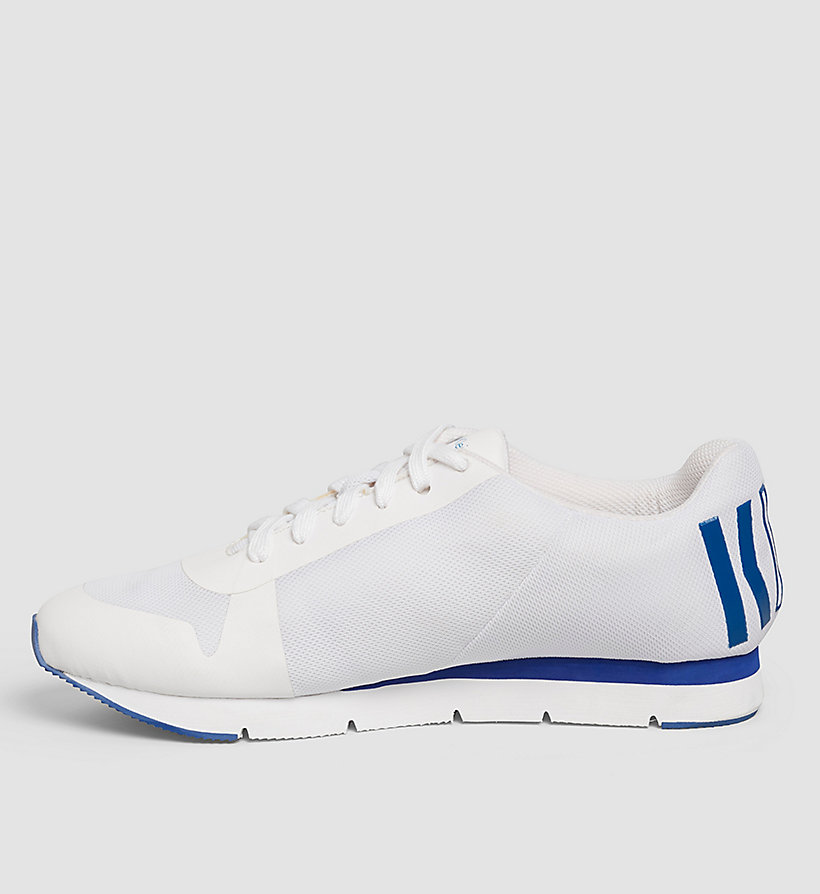 CKJEANS Sneakers - WHITE/WHITE/COBALT - CK JEANS SHOES & ACCESSORIES - detail image 2
