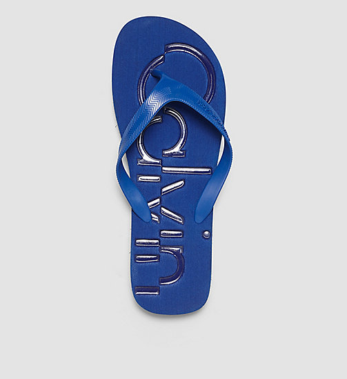 Jelly Sandals - BLACK/COBALT/COBALT - CK JEANS SHOES & ACCESSORIES - detail image 1