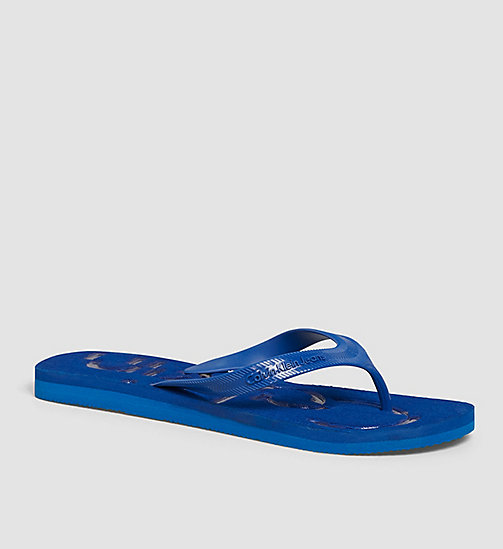 Jelly Sandals - BLACK/COBALT/COBALT - CK JEANS  - main image