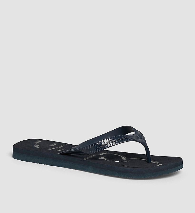 CKJEANS Jelly Sandals - BLACK/INDIGO/INDIGO - CK JEANS SHOES & ACCESSORIES - main image