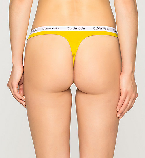 CALVINKLEIN Thong - Carousel - ACID GOLD - CALVIN KLEIN Up to 50% - detail image 1