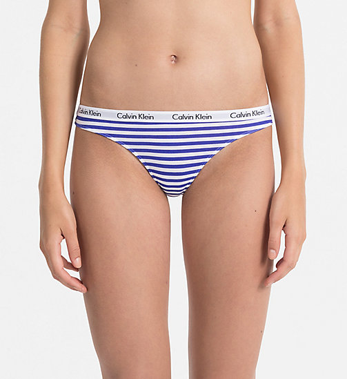Thong - Carousel - SIMPLE STRIPE_WHITE/STREAK - CALVIN KLEIN WOMEN - main image