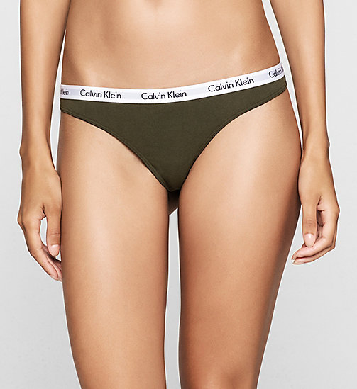 Thong - Carousel - VALLEY - CALVIN KLEIN WOMEN - main image