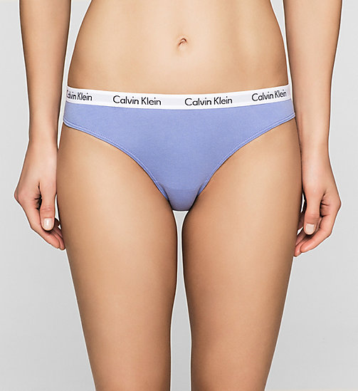 CALVINKLEIN Culotte - Carousel - TRANQUIL BLUE - CALVIN KLEIN CULOTTES - image principale