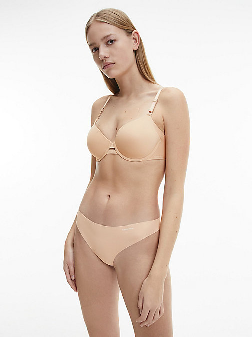 CALVINKLEIN String - Invisibles - LIGHT CARAMEL - CALVIN KLEIN STRINGS - image détaillée 1