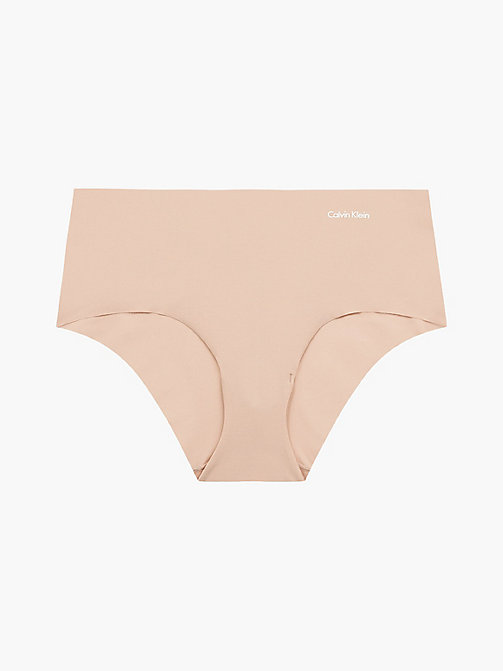 CALVINKLEIN Shorty - Invisibles - LIGHT CARAMEL - CALVIN KLEIN 3 SLIPS POUR €40 - image principale