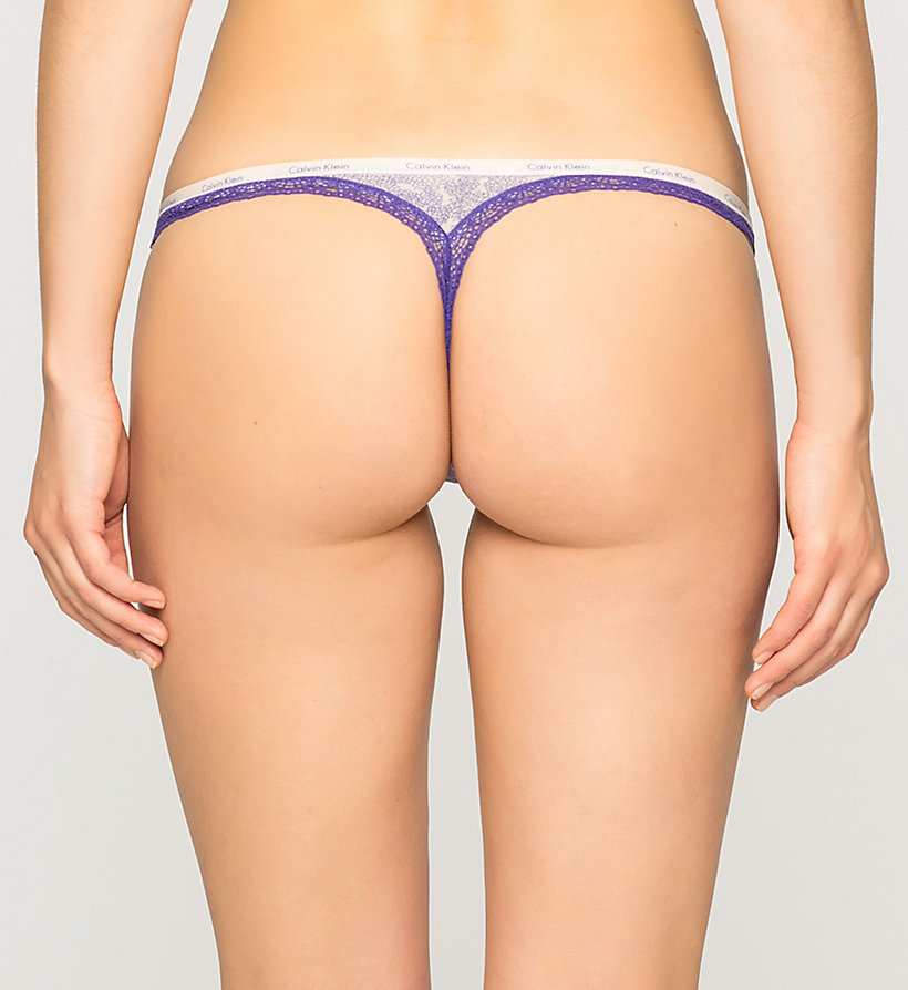 CALVINKLEIN String - Bottoms Up - ENDLESS FLORAL (STIMULATE LAC - CALVIN KLEIN UNTERWÄSCHE - main image 1