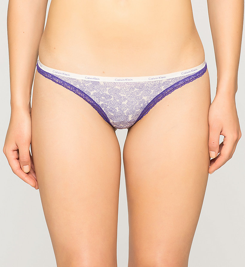 CALVINKLEIN String - Bottoms Up - ENDLESS FLORAL (STIMULATE LAC - CALVIN KLEIN UNTERWÄSCHE - main image