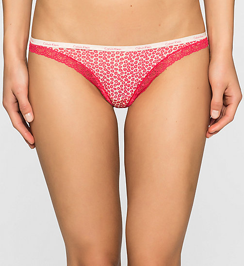CALVINKLEIN Thong - Bottoms Up - TINY LEOPARD_SULTRY (SULTRY L - CALVIN KLEIN THONGS - main image