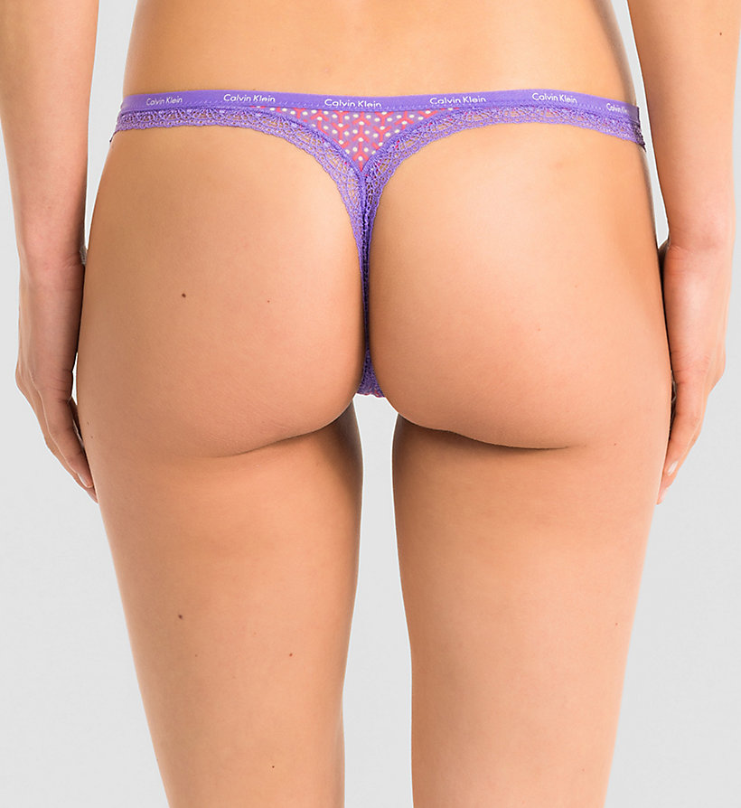 CALVINKLEIN String - Bottoms Up - YIPPIE DOT_RETROGRADE (RETROG - CALVIN KLEIN UNTERWÄSCHE - main image 1