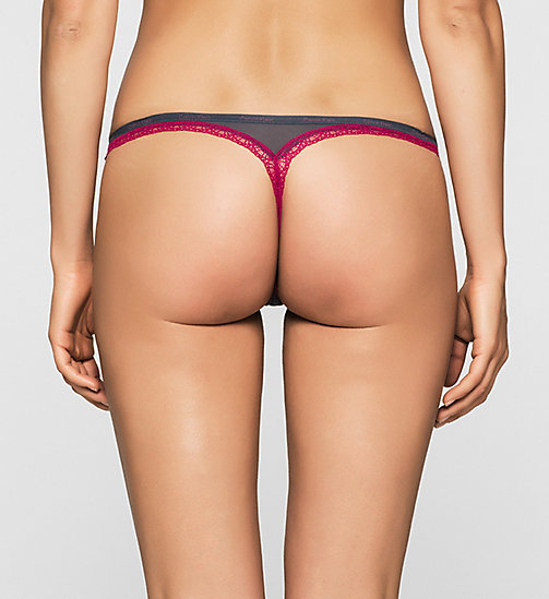CALVINKLEIN Thong - Bottoms Up - SPEAKEASY_LUST - CALVIN KLEIN THONGS - detail image 1