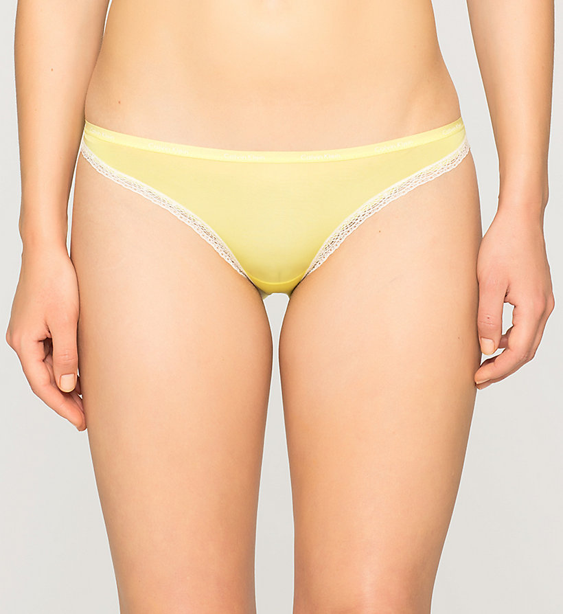 CALVINKLEIN Bikini - Bottoms Up - FLASH (IVORY LACE) - CALVIN KLEIN UNDERWEAR - main image